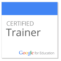 Google for Education Certified Trainers new badge